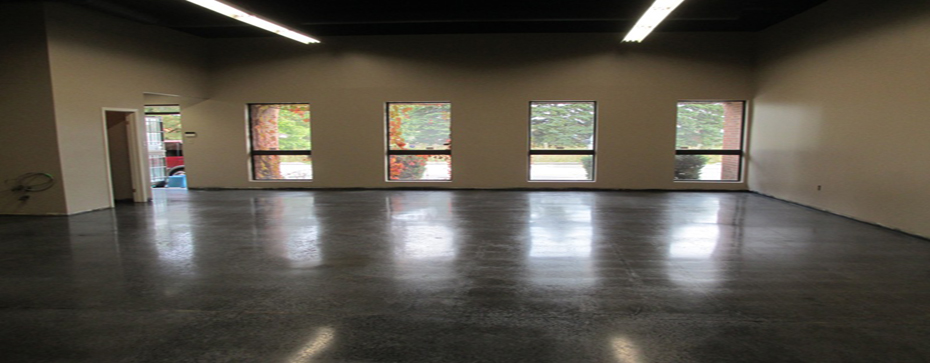 Polished Concrete Floors Toronto - Staining Banner 1